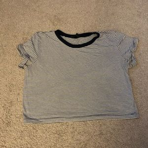 Truly Madly Deeply Striped Crop Top